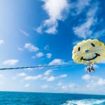 中部東海岸出港:パラセール+フライボード+チューブ類3種類が2時間乗り放題♪